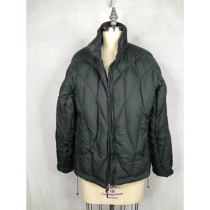 REI • Down Feather Puffer Jacket Black